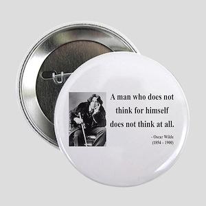 """Oscar Wilde 7 2.25"""" Button"""
