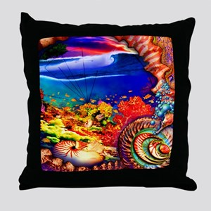ancient indo Throw Pillow