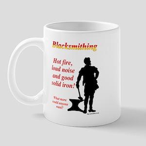 Hot fire loud noise Mug