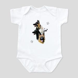 GSD Quad Infant Bodysuit