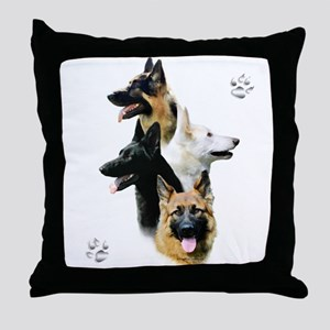 GSD Quad Throw Pillow