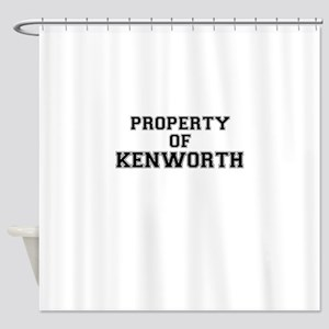 Property of KENWORTH Shower Curtain