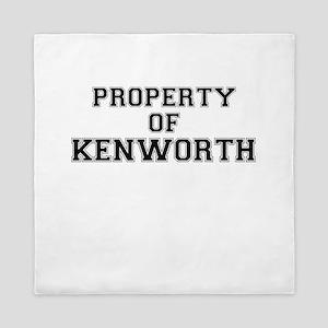 Property of KENWORTH Queen Duvet