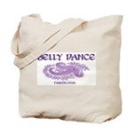 Paisley Belly Dance Tote Bag