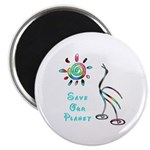 """Save Our Planet 2.25"""" Magnet (10 pack)"""