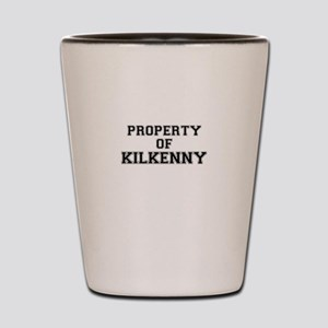 Property of KILKENNY Shot Glass