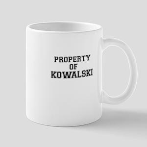 Property of KOWALSKI Mugs