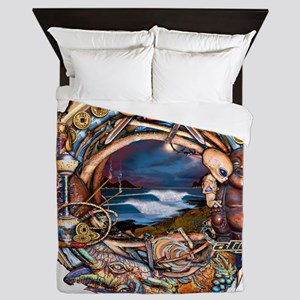 bali nights Queen Duvet