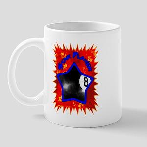8-ball Star 1 Mug