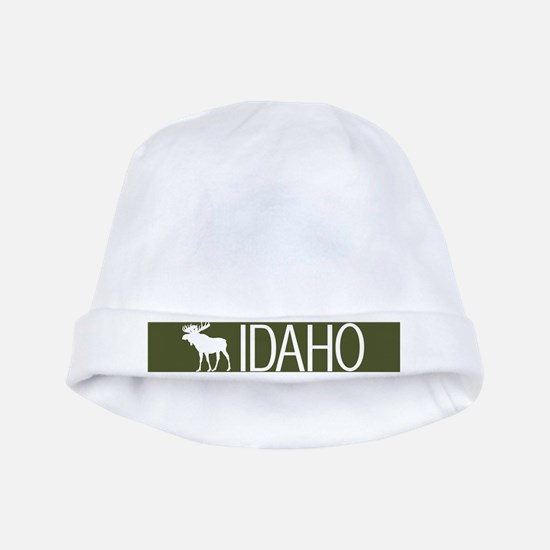 Idaho: Moose (Mountain Green) baby hat