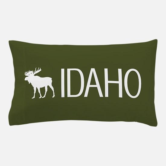 Idaho: Moose (Mountain Green) Pillow Case