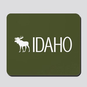 Idaho: Moose (Mountain Green) Mousepad