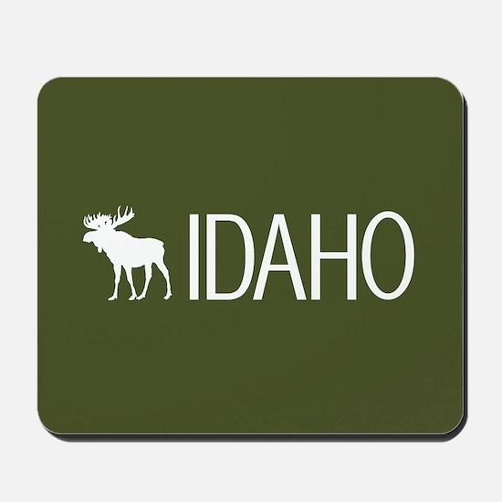 Idaho: Moose (Mountain Green) Mousepad