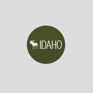 Idaho: Moose (Mountain Green) Mini Button