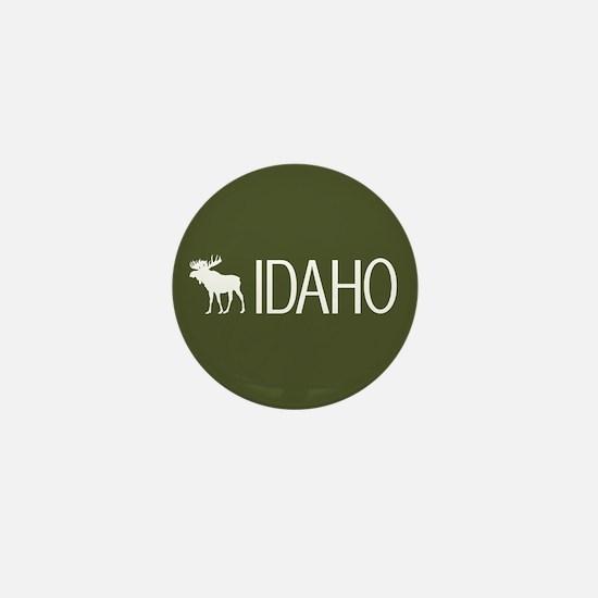Idaho: Moose (Mountain Green) Mini Button