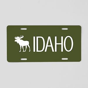 Idaho: Moose (Mountain Gree Aluminum License Plate
