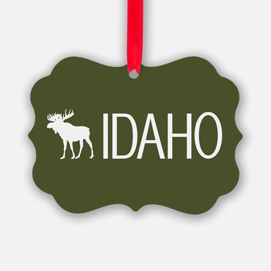 Idaho: Moose (Mountain Green) Ornament