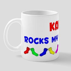 Kaiya Rocks Socks (A) Mug