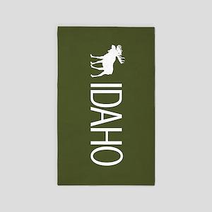 Idaho: Moose (Mountain Green) Area Rug
