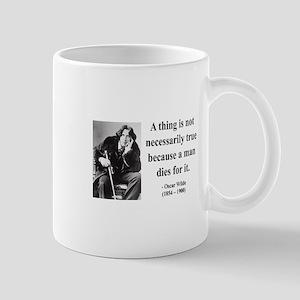 Oscar Wilde 9 Mug