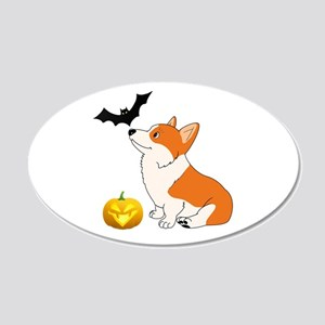 Halloween Corgi Wall Decal