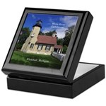 White River Lighthouse Keepsake Box