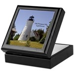 Old Presque Isle Lighthouse Keepsake Box