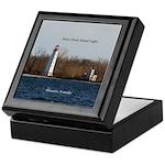 Main Duck Island Light Keepsake Box