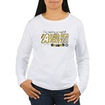 Major Art Attack 3 Women's Long Sleeve T-Shirt