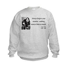 Oscar Wilde 10 Sweatshirt