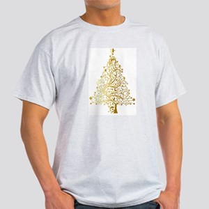 Gold Christmas Tree T-Shirt