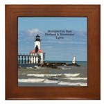 Michigan City East Pierhead & Framed Tile