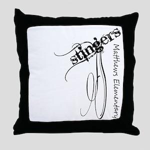 MES108 Throw Pillow