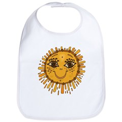 Sunny Face Bib