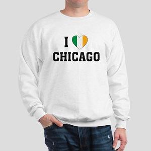 I Love Chicago Irish Sweatshirt