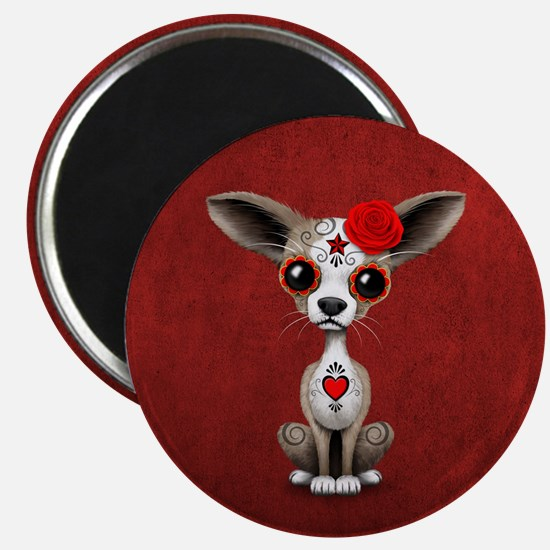 This adorable design features a small baby Chihuah
