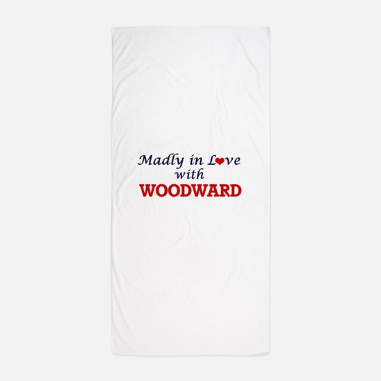 Madly in love with Woodward Beach Towel