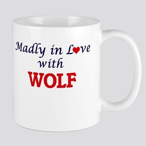 Madly in love with Wolf Mugs