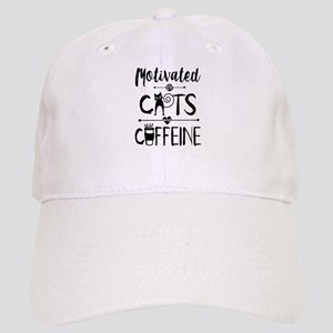 Coffee and Cats - Crazy Cat Lady Baseball Cap
