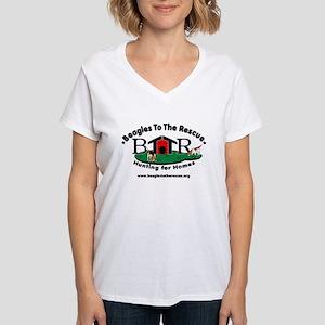 Just a Dog BTTR Logo White Tee-Shir T-Shirt