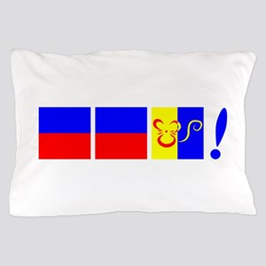 EEK! in Sailing Speak Pillow Case