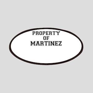 Property of MARTINEZ Patch