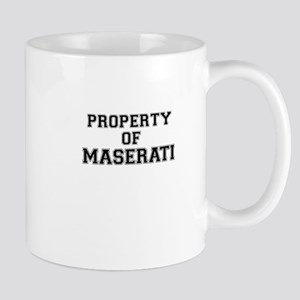 Property of MASERATI Mugs