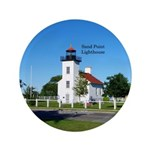 Sand Point Lighthouse Button