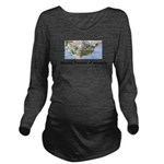 MissingMap Long Sleeve Maternity T-Shirt