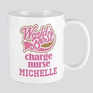 Charge Nurse Personalized Gift Mugs