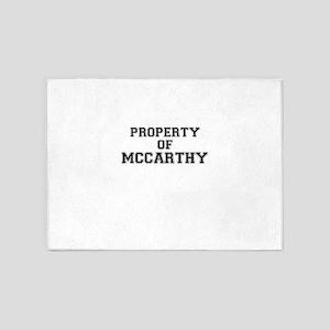 Property of MCCARTHY 5'x7'Area Rug