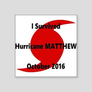 Hurricane Matthew Survivor Sticker