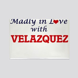 Madly in love with Velazquez Magnets
