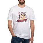 Mr. Friskett's Royal Flush Fitted T-Shirt